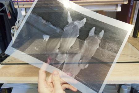 چاپ شفاف